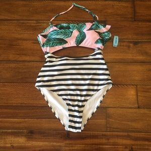Cupshe high waisted swim suit